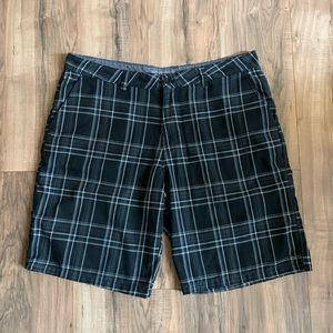 Hurley Shorts - Hurley Plaid Casual Shorts